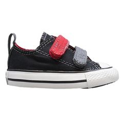 Converse Chuck 2 V  - Boys' Toddler - Black/Red