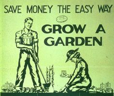 Due to unexpected events there are some food shortages which is causing a rise in the cost of food, the cost of gas is a factor too. Once your garden is established it's cheaper/healthier to grow your own, (herbs) save your seeds & start some plants in a sunny window. If you don't have the ground, try vertical Gardening, growing in barrels on a Patio, beans up a fence. Plant veggies inside your flower bed in between your Perennials rather than annual flowers. Plant Fruit Trees, bushes/vines.