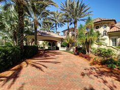 For sale: $14,900,000. Located thirty minutes from Tampa International Airport, this magnificent Mediterranean 16 acre estate encompasses a main residence with 21,000 square feet under roof, a guest house with 6200 square feet under roof, and a gated boardwalk leading to 11 miles of riding trails.  Massive iron doors open onto the foyer.  An elegant groin-vaulted ceiling arches up 26 feet high.  The lower walls of the foyer are made of pre-cast stone blocks.  They set the tone of age and…