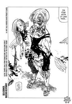 Nanatsu no Taizai 213 Comments - Read Nanatsu no Taizai 213 Manga Scans. Free and No Registration required for Nanatsu no Taizai 213 Seven Deadly Sins Anime, 7 Deadly Sins, Ban E Elaine, Evil Knight, Comic Book Template, Seven Deady Sins, Japanese Cartoon, Itachi Uchiha, Naruto