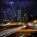 Dallas Skyline by Justin Terveen