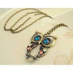 www.allaboutyougifts.com/#lisamcmorris- vintage owl necklace