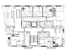 Planta acotada. Diseño realizado para la reforma de una vivienda y un apartamento. Realizado con AutoCad.