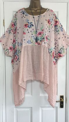 Diy Clothing, Sewing Clothes, Refashioned Clothing, Bohemian Mode, Dressmaking, Diy Fashion, Plus Size Fashion, Tunic Tops, Linen Trousers