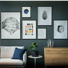 This is how it's done☝️️ A beautiful #papercollective wall spotted at @miljogarden_mobler - we are in love with this styling❤️ #art #design #interior #interiordesign #wallart #artprint #limitededition #photoart #graphicdesign