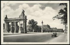 Charlottenburger Brücke mit Tor 1935
