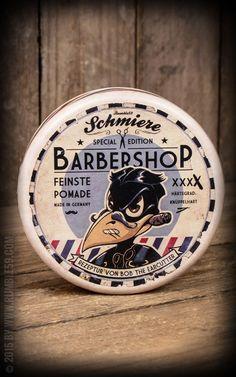 Pommade Schhmiere Knüppelhart - Barber Edition