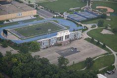Eastern Illinois University- EIU O'Brian Football Stadium and tennis courts. Eastern Illinois, Football Stadiums, Love Mom, Cathedrals, Baseball Field, Tennis, University, College, Future