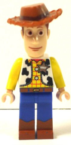 Custom Made Lego Toy Story Woody Character by CosmicToys on Etsy, £5.99