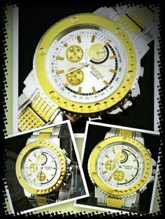 Reloj Dorado - 8€ Ref: R102