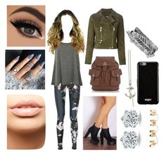 """Untitled #265"" by dancer-sos on Polyvore featuring MDMflow, Kasun, Versus, Maison Margiela, Boohoo, The Upside, WearAll and Givenchy"
