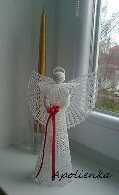 Háčkovaný anjelik
