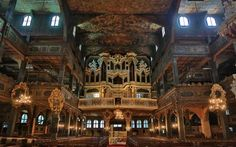The Church of Peace in Świdnica, Poland, is one of three 17th-century wooden Evangelical churches built in Southwestern Poland. The magnificent interior is stunning.
