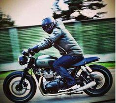 shark raw motorcycle helmet and bike