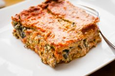 Vegan Gluten Free Lasagne - Full of Beans