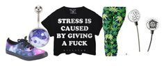 """Stress Is Caused By"" by candace-vanitymonroewitzigreuter ❤ liked on Polyvore"