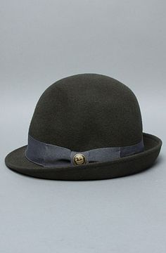 Hat x Goorin Brothers The Lady Gertrude Cloche in Olive