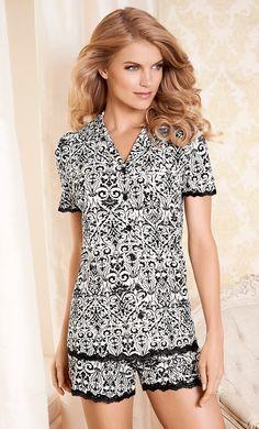 Embraceable™ Short Sleeve PJ Top & Short in Debut #SomaInimates