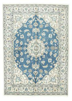 Nain matta VEXZL1087 169x233 från Persien / Iran - Köp dina mattor hos CarpetVista Living Room Grey, Living Room Interior, Persian Carpet, Persian Rug, Carpet Cover, Magic Carpet, Carpet Design, Soft Furnishings, Blue Area Rugs