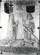 Anne of York, Duchess of Exeter (10 August 1439 – 14 January 1476) was the first child and eldest surviving daughter of Richard Plantagenet, 3rd Duke of York, and Cecily Neville. She was thus the eldest sister of Kings Edward IV (1461-1483) and Richard III (1483-1485); and of Edmund, Earl of Rutland, Elizabeth of York, Duchess of Suffolk, Margaret, Duchess of Burgundy and of George Plantagenet, 1st Duke of Clarence