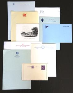 Just part of a larger collection of stolen stationary.