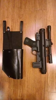 Foam Armor, Sci Fi Models, Galactic Republic, Star Wars Light Saber, Concept Weapons, Jedi Knight, Violent Crime, Leather Holster, Fantasy Weapons