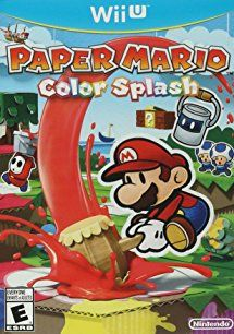 Shop Paper Mario: Color Splash Standard Edition Nintendo Wii U at Best Buy. Find low everyday prices and buy online for delivery or in-store pick-up. Paper Mario Color Splash, Adventure Rpg, Wii U Games, New Video Games, Mario And Luigi, Video Game Characters, Kids Store, Super Mario, Nintendo Wii