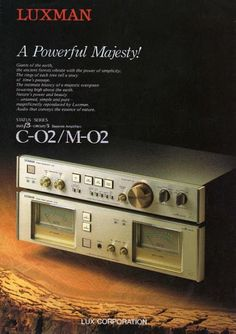 Golden Age Of Audio: Luxman C-02.M-02 Amplifier