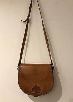 70s/80s Saddle Bag