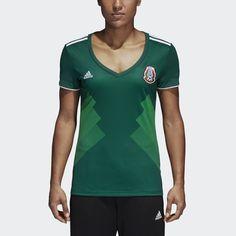 c4984eb99 adidas Mexico Home Replica Jersey - Womens Soccer Jerseys Mexico Soccer  Jersey, Soccer Jerseys,