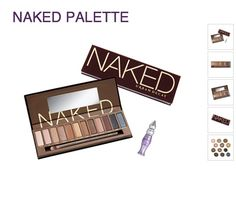 Naked pallet (eyeshadow) I want this sooo bad!!! I still need to get the first one lol