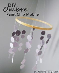 paint chip mobile