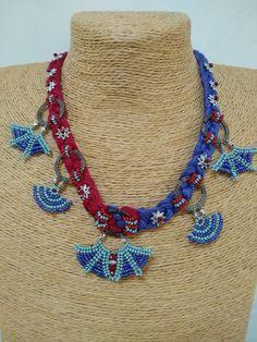 Crochet Accessories, Crochet Necklace, Creative, Jewelry, Jewlery, Jewerly, Schmuck, Jewels, Jewelery