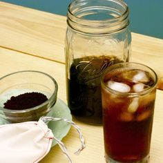 Cold Brew Coffee with Reusable Coffee Bag