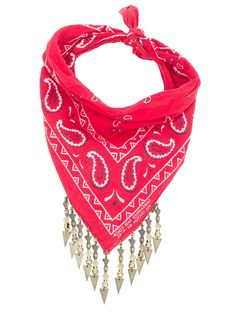 The Harper Arrow Red Bandana
