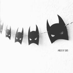 Stoere Batman slinger helemaal leuk voor op een stoere jongens / kinderkamer