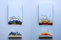 Maud VAUTOURS Sculptures 3D paper