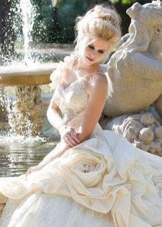 off white bride