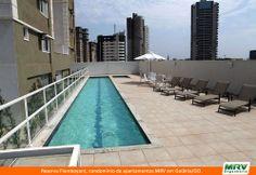 Paisagismo do Flamboyant. Condomínio fechado de apartamentos localizado em Goiânia / GO.
