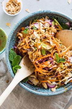 Healthy Chinese Chicken Salad   Recipe Makeover   Vegan