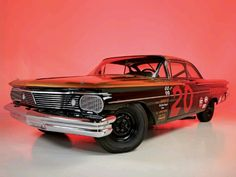 1960 Pontiac Catalina Daytona 500 Winner driven by Marvin Panch Daytona 500 Winners, Pontiac Catalina, Classy Cars, Vintage Race Car, Automotive Art, Nascar, Muscle Cars, Race Cars, Old School