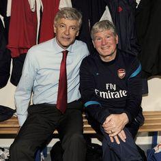 Arsene Wenger & Pat Rice Arsenal Official, Arsenal Fc, Happy Birthday Pat, Arsene Wenger, Great Team, Rice, Instagram, Arsenal F.c., Laughter