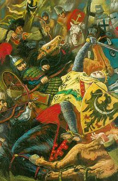 Śmierć Henryka Pobożnego