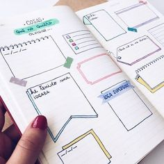 11 Simple Hand-Lettered Fonts For Your Bullet Journal Fill a random page with these for random stuff Bullet Journal 2018, Bullet Journal Notes, Bullet Journal Spread, Cute Notes, Pretty Notes, Journal Layout, My Journal, Journal Ideas, Bullet Journel