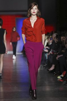London Fashion Week fw 13-14. Parte seconda