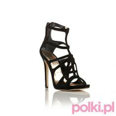 Czarne sandałki na obcasie Baldowski by Zień #polkipl #buty #shoes #baldowski #zien