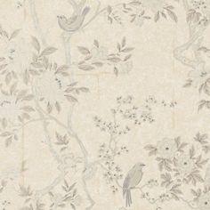 Ralph Lauren MARLOWE FLORAL MOTHER OF PEARL Wallpaper
