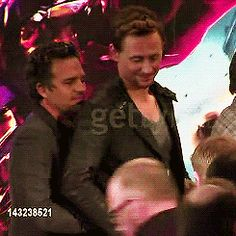 I think Tom just laced their fingers together o_O
