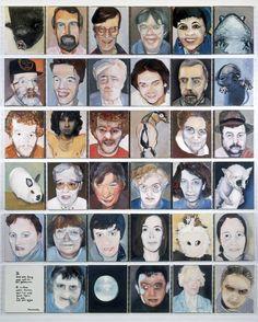 Het Hooghuys schilderij, 1990 © Marlene Dumas born in South Africa 1953 Marlene Dumas, Art Corner, Painting People, Human Art, Figurative Art, Traditional Art, Lovers Art, Painting & Drawing, Illustration Art