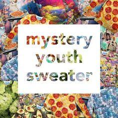 """""""We always have some extra Youth Sweaters around, ready to ship ASAP! Mystery, Youth, Ship, Sweaters, Pullover, Young Man, Sweater, Young Adults, Sweatshirts"""